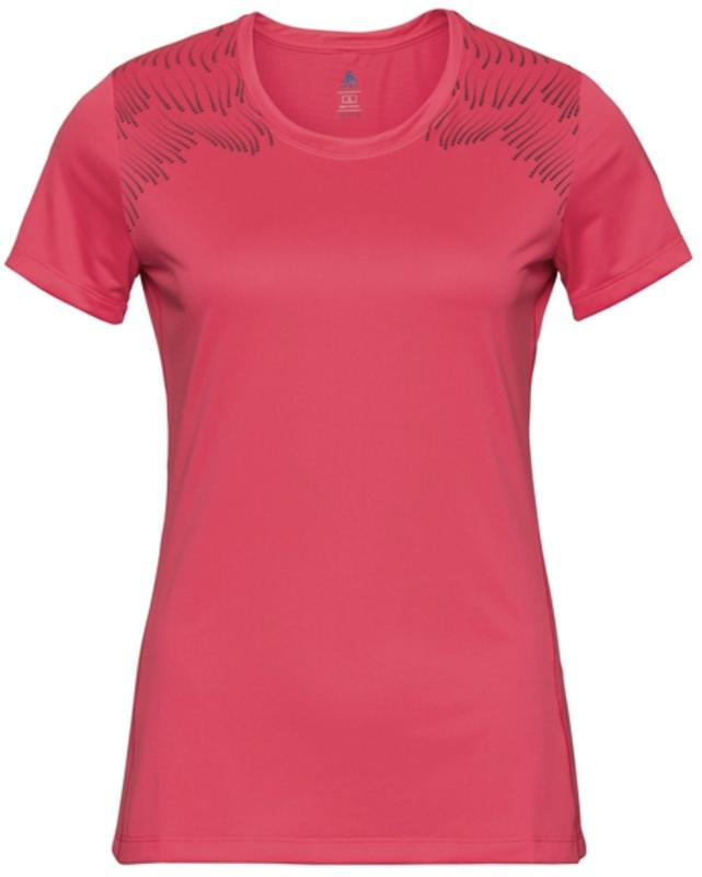 Odlo T-shirt woman short sleeve red