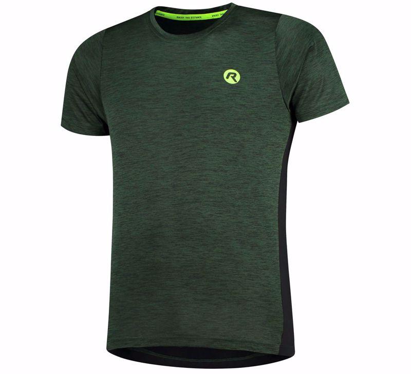 Rogelli Matrix T-shirt green/black/fluor