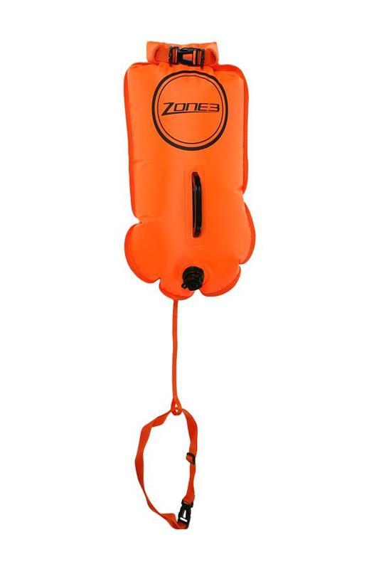 Zone3Swim Safety Buoy/Dry Bag 28L Orange