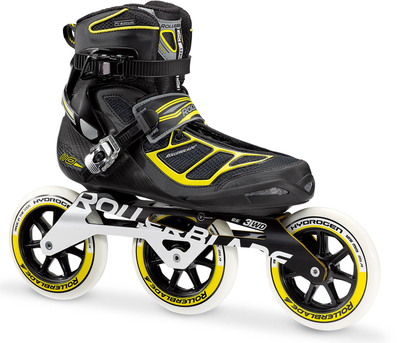 Rollerblade Tempest 125 3WD Black/Yellow