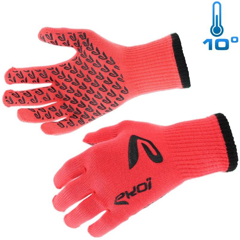 Ekoi mid season glove Red