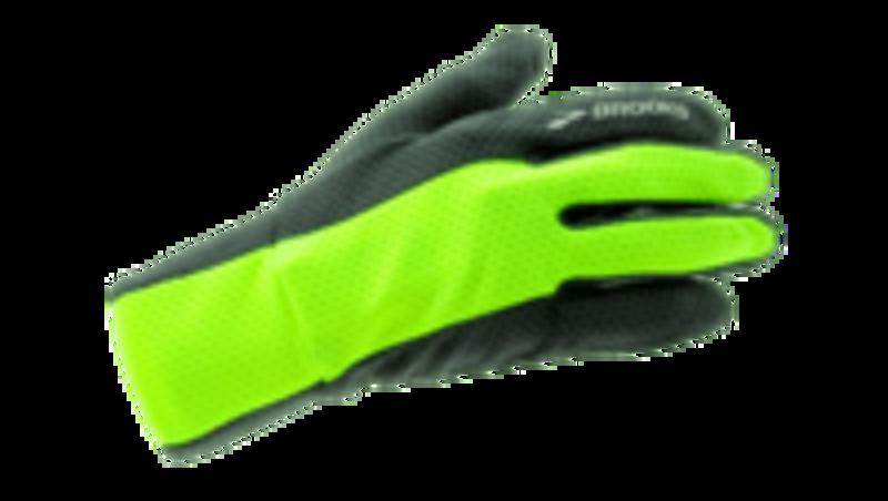 Brooks Unisex Pulse Lite gloves BLACK/ DARK GREY