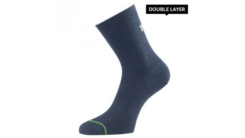1000 mile  Ultimate Tacktel Sock (anti-blaren) Black Heren