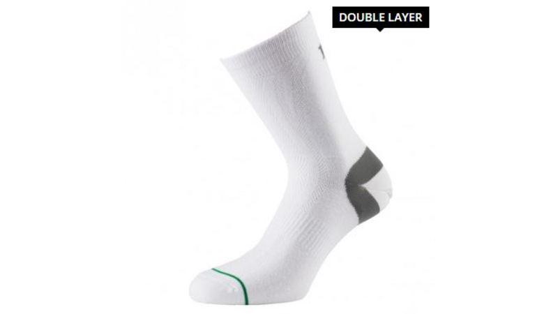 1000 mile  Ultimate Tacktel Sock (anti-blaren) Wit Heren