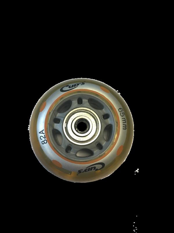 roue, y compris les roulements-82A-65mm