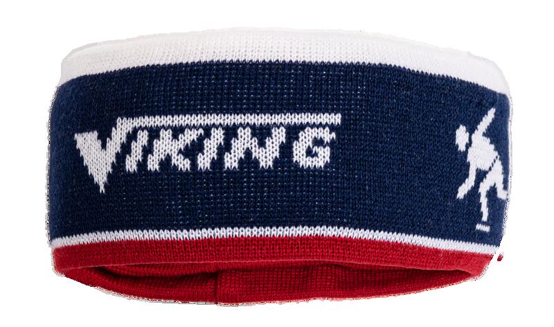 Viking Headband-beanie blue/ret/white