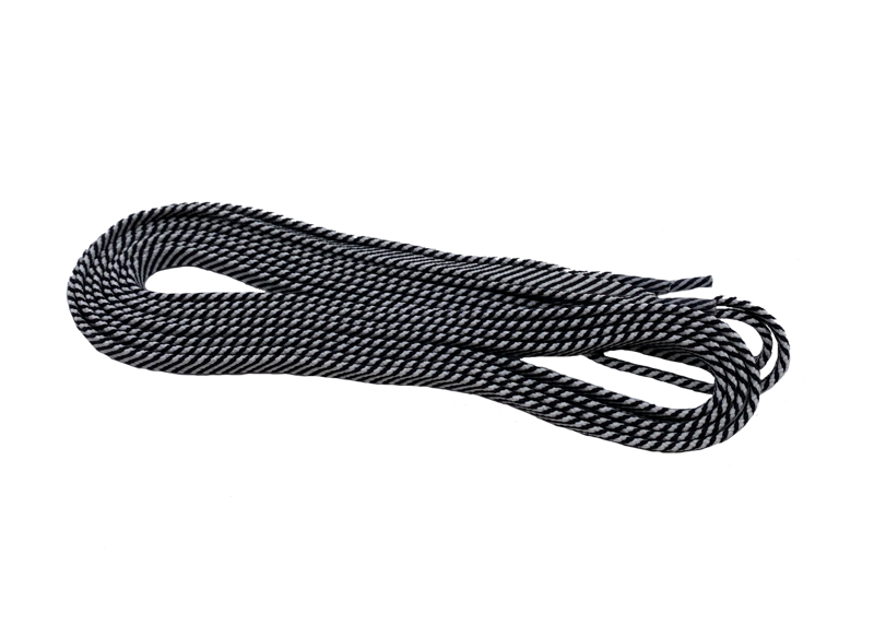 Viking laces 180cm black/grey