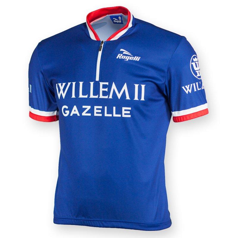Rogelli Retro Willem II wielershirt kortemouw