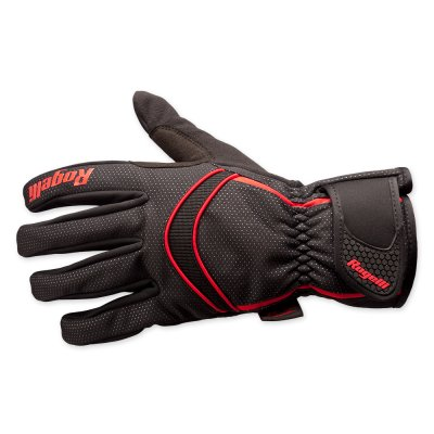 winter glove whitby black/red