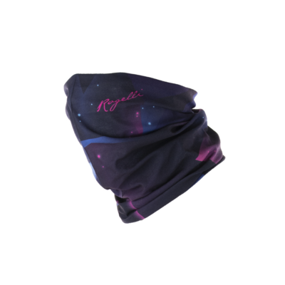 Rogelli Multifunctionele Scarf black/pink/blue