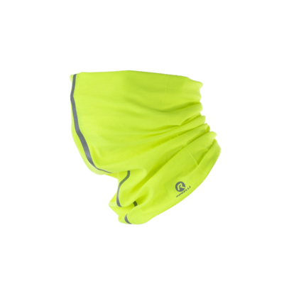 Rogelli Multifunctionele Scarf fluor yellow