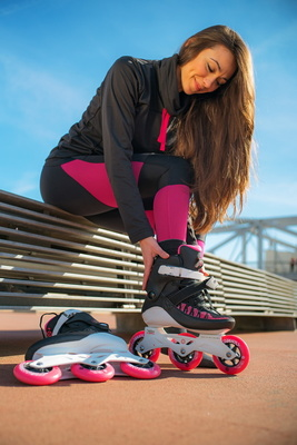 PowerslideSwell Lady 100 Black/Pink