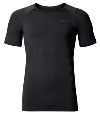 Odlo Man T Shirt Crew Neck Evolution light, Black 181012