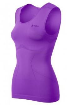 Odlo Dames Singlet Crew Neck Evolution Light Violet