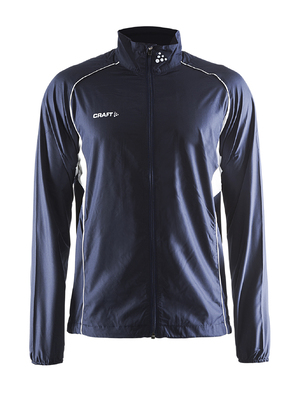Craft T&F Wind Jacket Men Marine blauw
