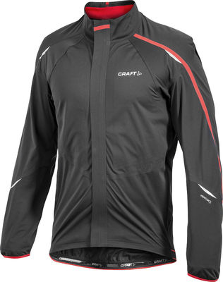 Tech Jacket Black/Red Men