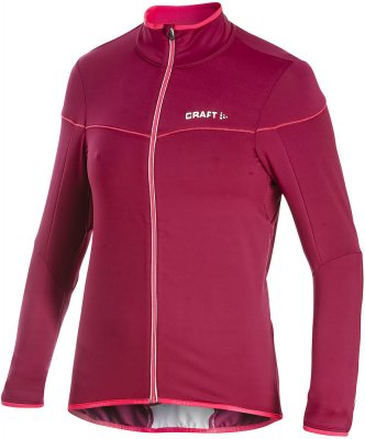 Craft Performance bike light thermal jersey woman