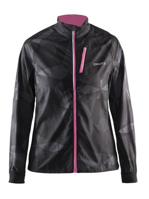 Craft PXC Storm jacket woman Black/blossum