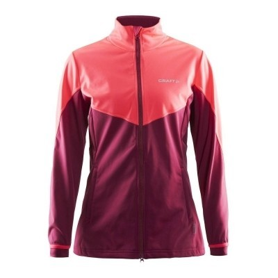 Craft Craft Voyage Jacket Ruby/Crush - Woman