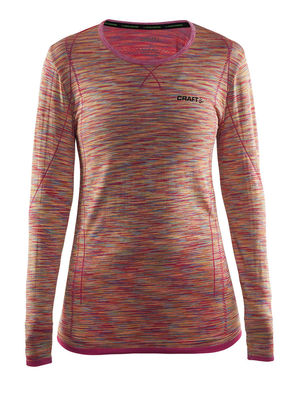 Craft Active Comfort RN LS Women confetti