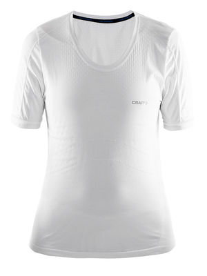 Craft Cool Seamless Short Sleeve Tee Women White