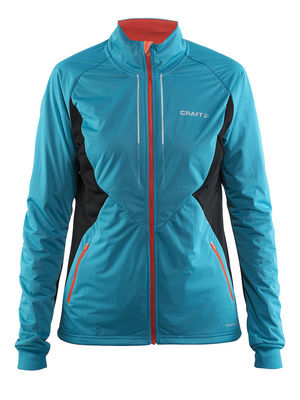 Craft Storm jacket 2.0 femme Gale/black/Calypso