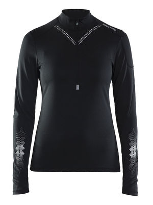 Craft Brilliant 2.0 Halfzip Women Black
