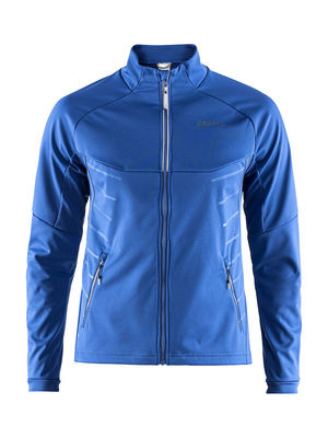 Warm train jacket imperial blue
