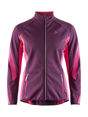 Craft Sharp Softshell Jacket Women Tune/Fantasy