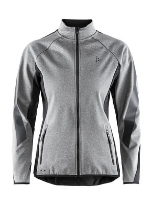 Craft Sharp Softshell Jacket Women Melange/Black
