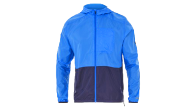 Asics Men's packable jacket [race blue/peacoat]