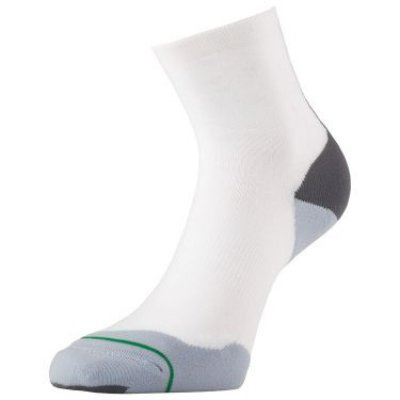 1000 mile  Fusion Sock (anti-blaren) Wit Heren