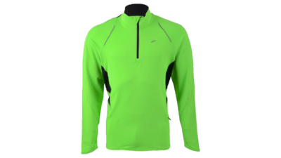 Men's Infiniti 1/2 zip [brite green/black]