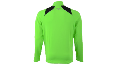 Brooks Men's Infiniti 1/2 zip [brite green/black]