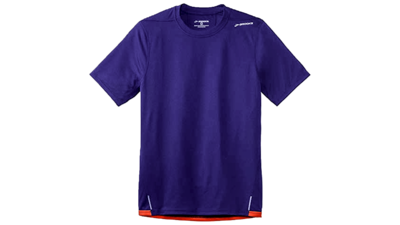 Brooks Men's Rev III short sleeve [indigo/satsuma]