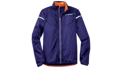 Brooks Men's LSD Lite jacket IV [indigo/satsuma]