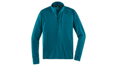 Brooks Men's Dash 1/2 zip [heather river]