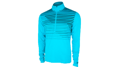 Brooks Men's Dash 1/2 zip [heather hydrate macro]