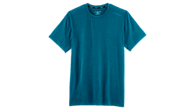 Men's Distance short sleeve [heather river]