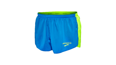 "Brooks Men's Elite 2"" splitshort [nightlife/ultrablue]"