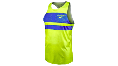 Men's Elite singlet [Brooks/block]