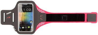 Smartphone Armband 21PO Grijs/Fluor Roze