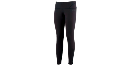 Women's Infinity tight III leg zip [black]
