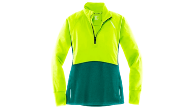 Brooks Women's Drift 1/2 zip [nightlife/kale]