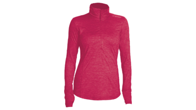 Brooks Women's Dash 1/2 zip [heather bloom]