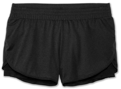 "Brooks Women's  Rep 3"" 2-in-1 short [black]"