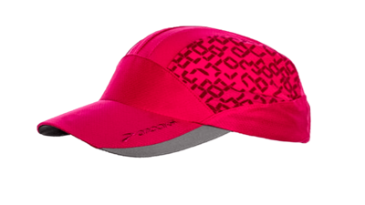 Brooks Women's Mesh run hat [fuchsia/digiprint]