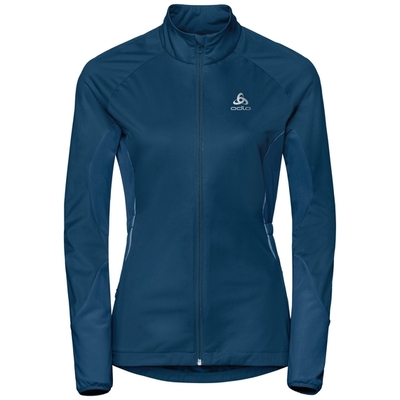 Odlo ZEROWEIGHT WINDPROOF WARM-JAS VOOR DAMES