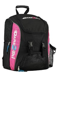 Dare2Tri backpack noir/rose