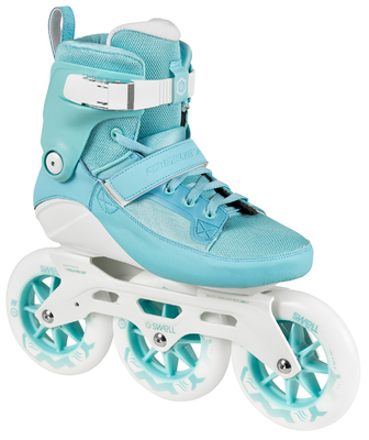 Powerslide Swell skates Aqua 125mm